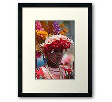 Poy Sang Long in Ban Thong Luang, Northern Thailand.  Framed Print