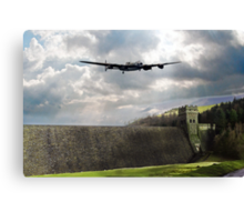 The Dam Busters over The Derwent Canvas Print