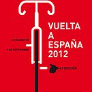 MY VUELTA A ESPANA 2012 MINIMAL POSTER by Chungkong