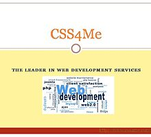 CSS4me at your service by css4me123