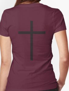 Cross, Christian, Crucifix, Christianity, Jesus, Lord, Saviour, Bible, Biblical, Black T-Shirt