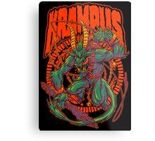 KREEPING KRAMPUS Metal Print