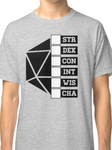 Roll Your Character! (Fillable Boxes) Classic T-Shirt
