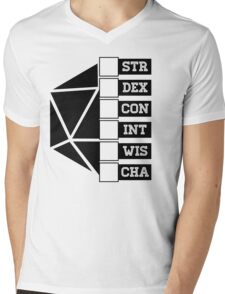 Roll Your Character! (Fillable Boxes) Mens V-Neck T-Shirt