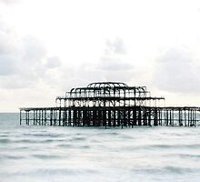 West Pier Silhoutte by KUJO-Photo