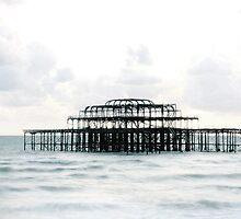 West Pier Silhoutte by KUJO-Photo