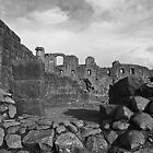 Penrith Castle by Lou Wilson