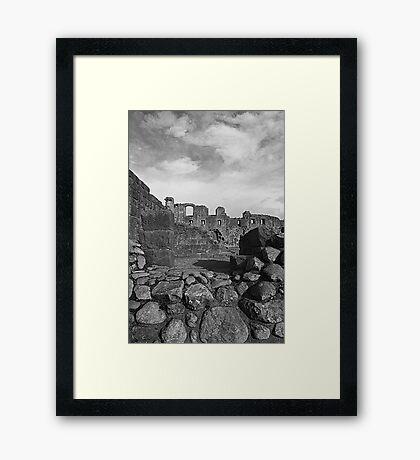 Penrith Castle Framed Print