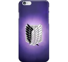 Survey Corps's iPhone Case/Skin