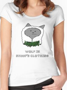 Wolf In Sheep's Clothing Women's Fitted Scoop T-Shirt