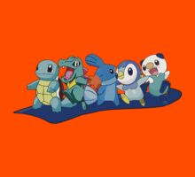 Water Type Pokemon Tee (: by bealee