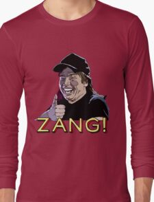Waynes World Zang! Long Sleeve T-Shirt