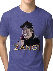 Waynes World Zang! Tri-blend T-Shirt