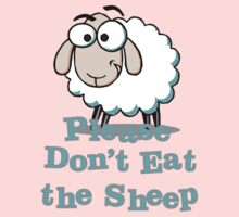 Please Don't Eat the Sheep One Piece - Short Sleeve