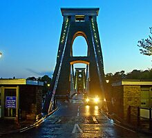Clifton Suspension Bridge by Beverley Barrett