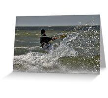 Splash......! Greeting Card
