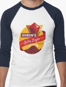 Ruby Lager Men's Baseball ¾ T-Shirt