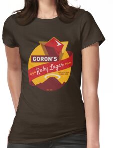 Ruby Lager Womens Fitted T-Shirt