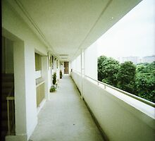 Corridor of Familiarity - Lomo by Yao Liang Chua