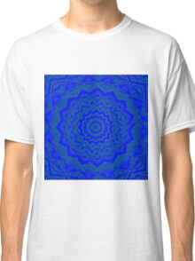 Psychedelic Blue Classic T-Shirt