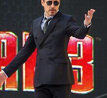 Robert Downey Jr by Paul Bird