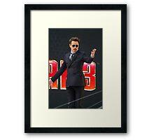 Robert Downey Jr Framed Print