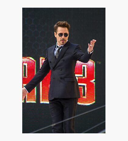 Robert Downey Jr Photographic Print