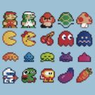 Retro Game Characters!  by adrienne75
