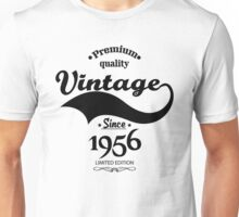 Premium Quality Vintage Since 1956 Limited Edition Unisex T-Shirt