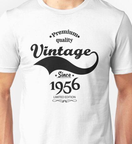 Premium Quality Vintage Since 1956 Limited Edition Unisex T-Shirt