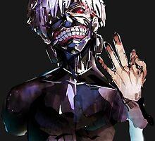 Kaneki Ken: Tokyo Ghoul Root A by Ayesher