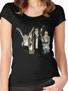 Point Break Movie 1 The Ex President Women's Fitted Scoop T-Shirt