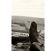 The Roaches, nr. Leek Staffordshire Photographic Print