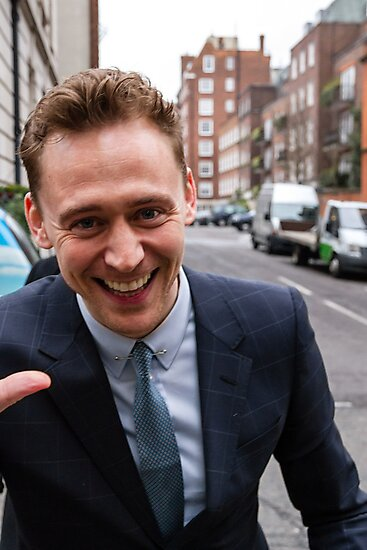 Tom Hiddleston by Paul Bird