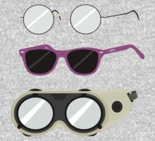 Glasses and Goggles- Potter/Starkid/Dr.Horrible One Piece - Long Sleeve