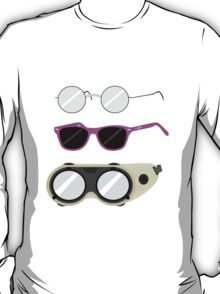 Glasses and Goggles- Potter/Starkid/Dr.Horrible T-Shirt