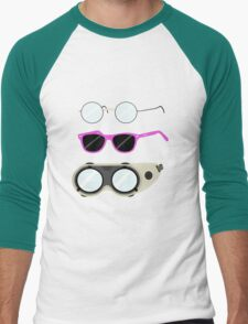 Glasses and Goggles- Potter/Starkid/Dr.Horrible Men's Baseball ¾ T-Shirt
