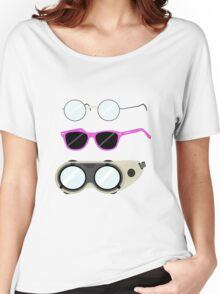 Glasses and Goggles- Potter/Starkid/Dr.Horrible Women's Relaxed Fit T-Shirt