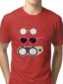 Glasses and Goggles- Potter/Starkid/Dr.Horrible Tri-blend T-Shirt