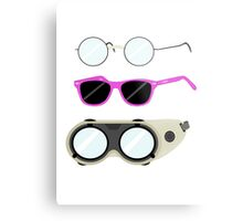 Glasses and Goggles- Potter/Starkid/Dr.Horrible Metal Print