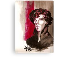 Sherlock - Into Darkness Canvas Print