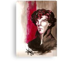 Sherlock - Into Darkness Canvas Print