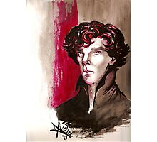 Sherlock - Into Darkness Photographic Print