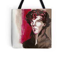 Sherlock - Into Darkness Tote Bag
