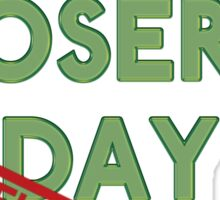 National Losers' Day Sticker