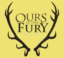 House Baratheon - Ours is the fury by wickedarian