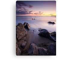 Hemmick Bay Sunset Canvas Print