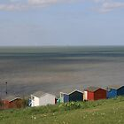 Beach Huts by Touchstone21