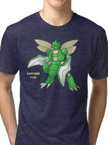 Scyther #123 Tri-blend T-Shirt