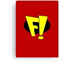 freakazoid logo Canvas Print
